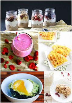 A week of healthy breakfast ideas