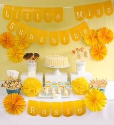 LITTLE MISS SUNSHINE - Party Package