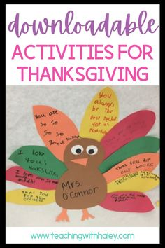 Thanksgiving Freebies by Haley O'Connor. Learn more about the different Thanksgiving ideas, activities, Thanksgiving read-aloud books, anchor charts, and crafting activities for kids. Including ways to show gratitude and thankfulness. I created a free pdf download for the read-aloud The Littlest Pilgrim. The free download helps kids identify the main character in the read-alouds traits! If you click on the images on my blog post you can download my free The Littlest Pilgrim download. Learn more.