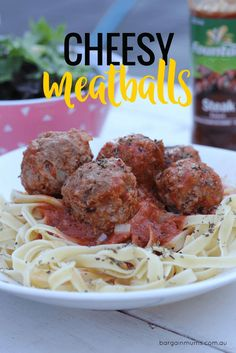 Add grated cheese and some Fountain Steak sauce to meatballs and they take on a whole new flavour. A great weeknight family meal.