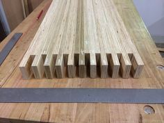 Laminated Plywood Bench