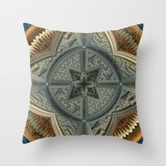 CenterViewSeries298 Throw Pillow by fracts - fractal art - $20.00