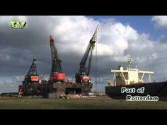 New video in the StockShot PermaStore: Port of Rotterdam: Thialf and Hermod http://youtu.be/ZGBjLyWA_F8