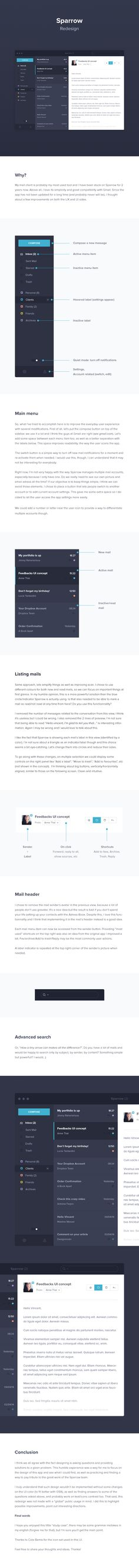 Sparrow Redesign - Case Study - by Vincent Tantardini