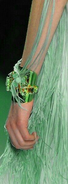 Glamorous Green .....