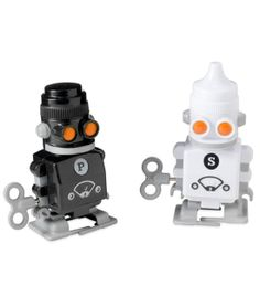 Robot Salt and Pepper Shakers: Any robot fan would love this pair of salt and pepper shakers ($20).