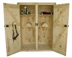 Saddle cupboard