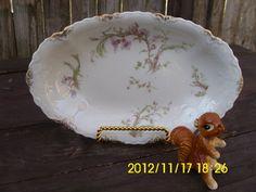 Antique Warwick Relish/Serving Tray/Dish/Platter. $10.00, via Etsy.