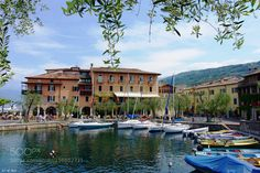 """Torri del Benaco - Lago di Garda Go to http://iBoatCity.com and use code PINTEREST for free shipping on your first order! (Lower 48 USA Only). Sign up for our email newsletter to get your free guide: """"Boat Buyer's Guide for Beginners."""""""