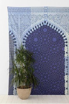 Magical Thinking Moroccan Arch Tapestry