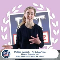 Phillipa Fitness Question # 41 - What other static holds are there? Plank, Tired, Sick, Hold On, Nutrition, Hands, Exercise, This Or That Questions, Guys
