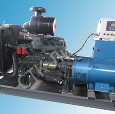 Дизельная электростанция RICARDO 150 кВт открытого типа