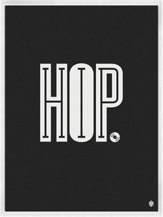 hip hop! Love the typographic syntax