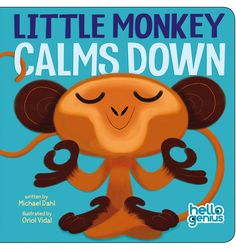 Books • Little Monkey Calms Down