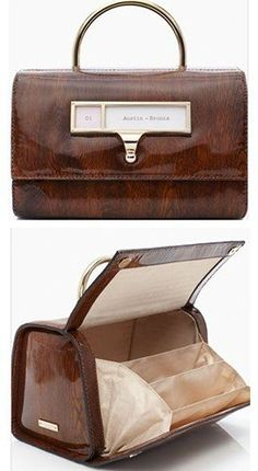types of office leather bags
