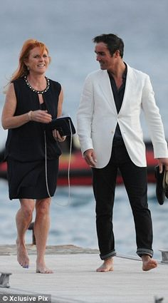 Duchess of York takes toyboy boyfriend to Bob Geldof's wedding #dailymail
