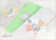 Несложные конверты для денег. Envelopes for money. Scrapbooking. creativenn.blogspot.com