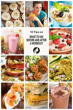The food you eat plays an important role in your body's health and fitness. It is peremptory that your workout regime is accompanied by a healthy diet. We have a list of foods that will help you stay in shape when you work out. ★ Read more: http://glaminati.com/what-to-eat-before-after-workout/?utm_source=Pinterest&utm_medium=Social&utm_campaign=CGA-what-to-eat-before-after-workout