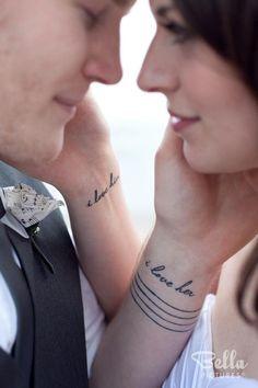 Couple Hand Tattoo Design