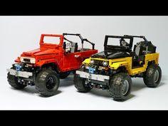 LEGO MOC-4889 FJ40 Crawler (Technic 2016) | Rebrickable - Build with LEGO