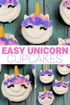 How to Make and Decorate Easy Unicorn Cupcakes! Perfect for unicorn birthday parties and magical playdates! How to Make and Decorate Easy Unicorn Cupcakes! Perfect for unicorn birthday parties and magical playdates! Unicorn Birthday Parties, Birthday Cupcakes, Unicorn Party, Birthday Month, Raspberry Smoothie, Apple Smoothies, Chocolate Cake Mixes, Chocolate Cupcakes, Baking Cupcakes