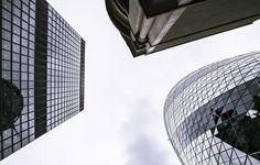 Urbanas, Reino Unido, Edifícios, Cidade, Arranha Céus