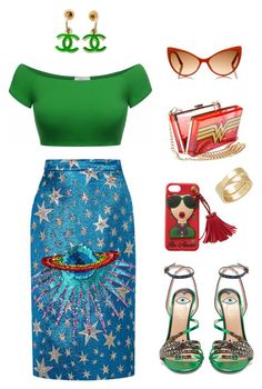 """""""Wonder Girl"""" by midnightjoy ❤ liked on Polyvore featuring Gucci, Chanel, Cartier and Tom Ford"""