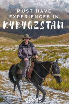 Backpacking Through Kyrgyzstan | Travel Itinerary For Kyrgyzstan | What To See & Do | Best Of Central Asia Travel | Best Hikes In The World | Must Have Experiences | Ultimate Guide To The Stans