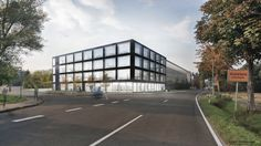 brüchner-hüttemann pasch bhp Architekten + Generalplaner GmbH 3.Preis Standortoptimierung Goldbeck, Bielefeld #bhparchitekten #architecture #bielefeld #wettbewerb #competion