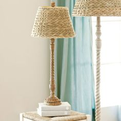 Lamp shade - wonder if I could make this with braided rope