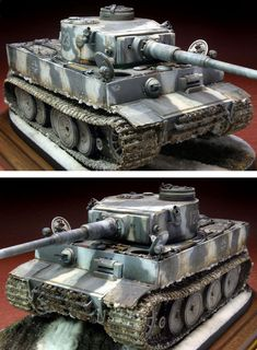 Trump Models, Winter Camo, Scale Art, Tiger Tank, Model Tanks, Military Modelling, Ww2 Tanks, Military Diorama, Military Equipment