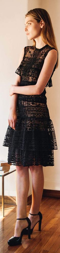 Get inspired and discover Costarellos trunkshow! Shop the latest Costarellos collection at Moda Operandi. Short Lace Dress, Short Dresses, Lace Dresses, Love Fashion, Womens Fashion, Fashion 2016, Couture Fashion, Christos Costarellos, Dress Skirt