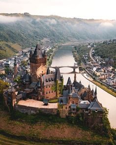 Cochem Castle, Germany You are in the right place about Train travel food Here we offer you the most beautiful pictures about the Train travel canada you are looking for. When you examine the Cochem C Beautiful Castles, Beautiful Places, Wonderful Places, Cool Places To Visit, Places To Travel, Travel Destinations, Travel Trip, Overseas Travel, Belize Travel