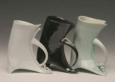 See lots more of Susan's lovely porcelain work here .