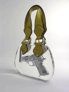 Ted Noten, Superbitch bag model Gucci