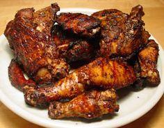 Ah...jerked chicken. No other aroma smells so good. Mek mi mout wata!