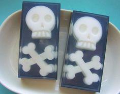 Soap   Skulls and Crossbones All Natural by SunbasilgardenSoap, $6.00