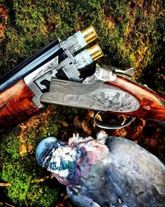 This is the official page of Gentleman Bobwhite, dedicated to the outdoor lifestyle and the pleasures of pursuing the gentleman of game birds: the bobwhite quail. Skeet Shooting, Shooting Guns, Fishing Uk, Kayak Fishing, Weapons Guns, Guns And Ammo, Hunting Photography, Lever Action Rifles, Gun Art