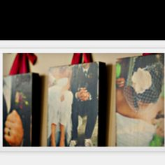 Customized Wooden Photo Boards or Photo Blocks http://www.photobarn.co/