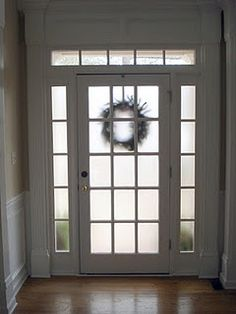 How to make your front door more private