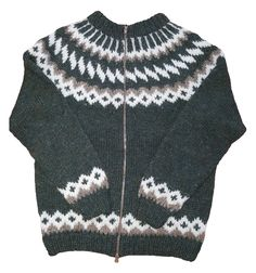 Traditional Icelandic Wool Sweater - 100% Icelandic wool - Made in Iceland :)