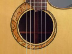 2002 Doolin Dreadnought -  Acoustic Guitar - Spalted Maple Rosette
