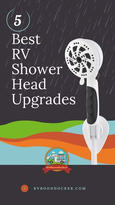 5 Best RV Shower Head Upgrades An RV shower head replacement is essential to a great showering in your camper. Check out the list now. Visit RVBoondocker.com for more RV living tips especially for RV newbies. Visit today and get a FREE camping list! Living On The Road, Rv Living, Tiny Living, Small Campers, Rv Campers, Camper Van, Rv Shower Head, Shower Heads, Rv Camping Checklist