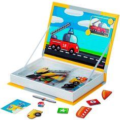 Libro magnético coche - Janod