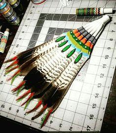 Native American Church, Native American Regalia, Feather Crafts, Feather Art, Blackfoot Indian, Eagle Feathers, Native Americans, Indian Art, Nativity