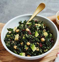 GP's Favorite Snack Foods: Crunchy Kale Salad with Blood Orange Vinaigrette