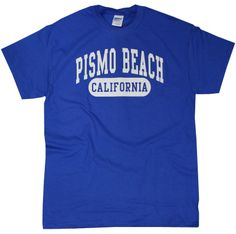 Pismo Beach graphic tee Find it here: http://slolifetees.com/pismobeach-2.aspx