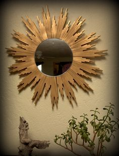 23 Handmade Sunburst Mirrors Ideas Sunburst Mirror Sunburst Mirror