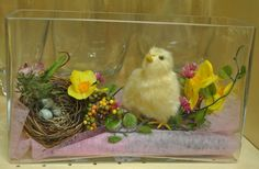 Easter centerpiece, found in store at Dom itp