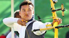 Ku Bonchan, S.Korea, gold medal, archery team and archery induvidual